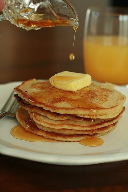 Whole Wheat Buttermilk Pancakes - we have tried MANY unprocessed ...