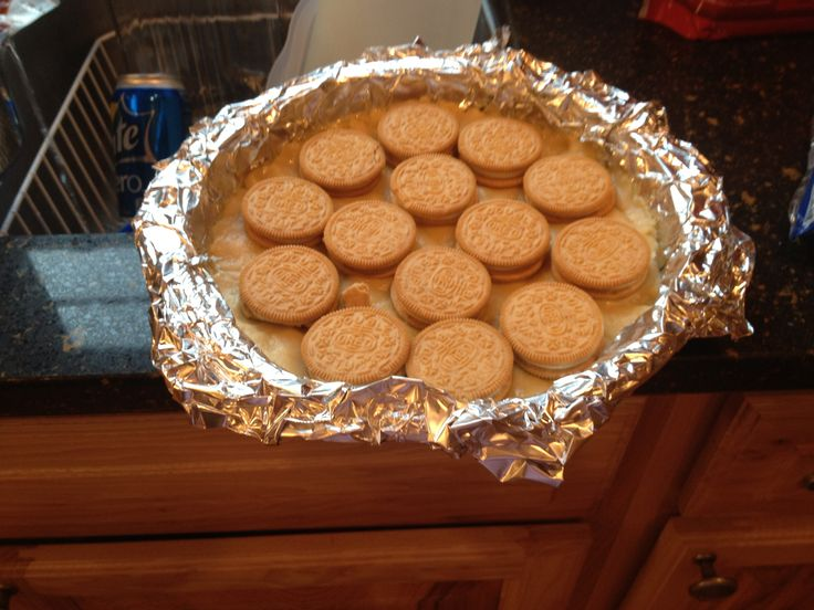 So this was my version of the slutty blondie brownies pinned on my ...