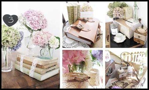 Deco livre dor  Mariage shabby / vintage / romantique  Pinterest