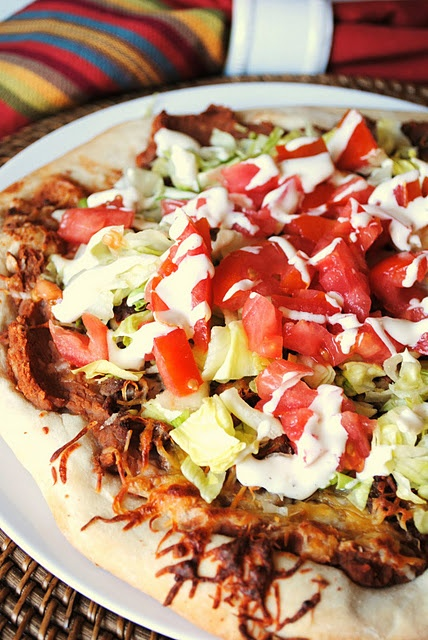 Taco Pizza | Food to Try | Pinterest