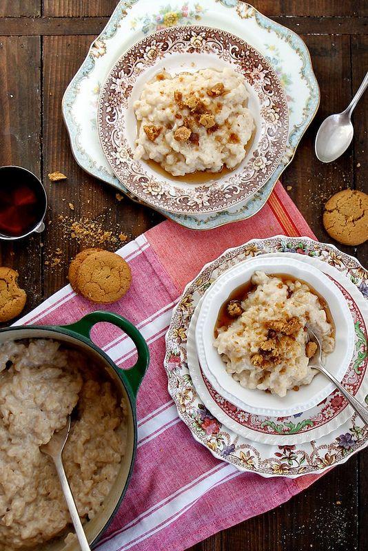 Joy the Baker – Maple Ginger Rice Pudding Potential dessert for ...