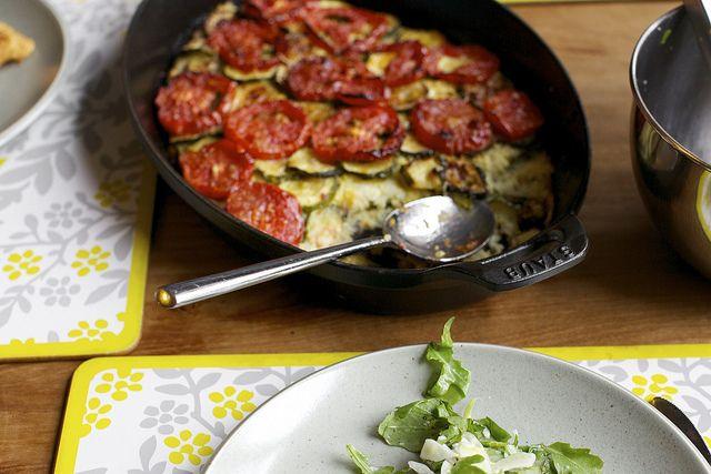 Zucchini Rice Gratin- Smitten Kitchen | Food and Cooking | Pinterest