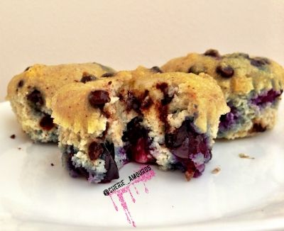 Ripped Recipes - Blueberry Chocolate Chip Muffins - Because who doesn ...