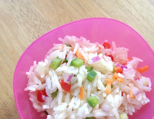 confetti rice salad recipe | food | Pinterest