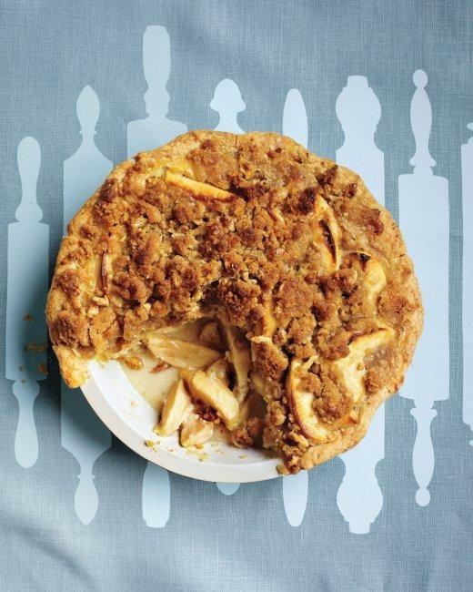 Apple-Sour Cream Crumb Pie Recipe