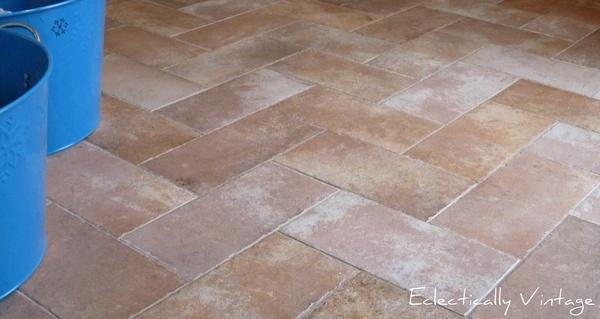 Herringbone Tile Pattern Shower Floor Home Decor Pinterest