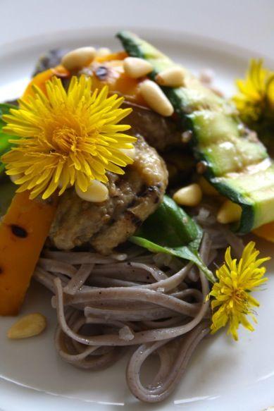 eggplant buckwheat pasta   yum   Pinterest