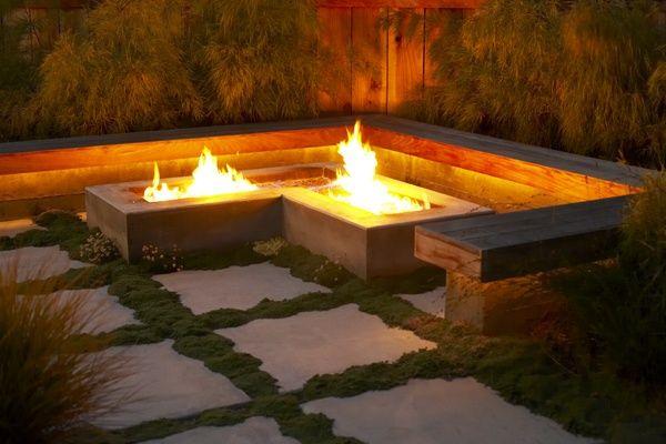 Modern Outdoor Fire Pit Ideas