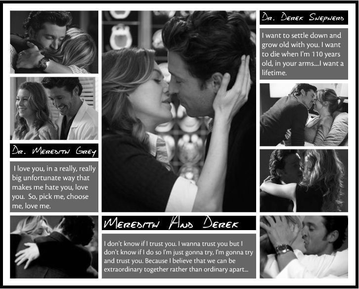 a love like Meredith and Derek