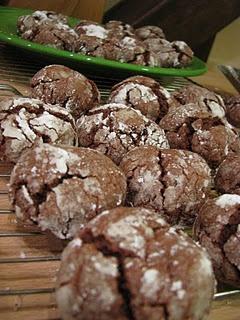 Gooey Chocolate Crinkle Cookies | Cookies! | Pinterest