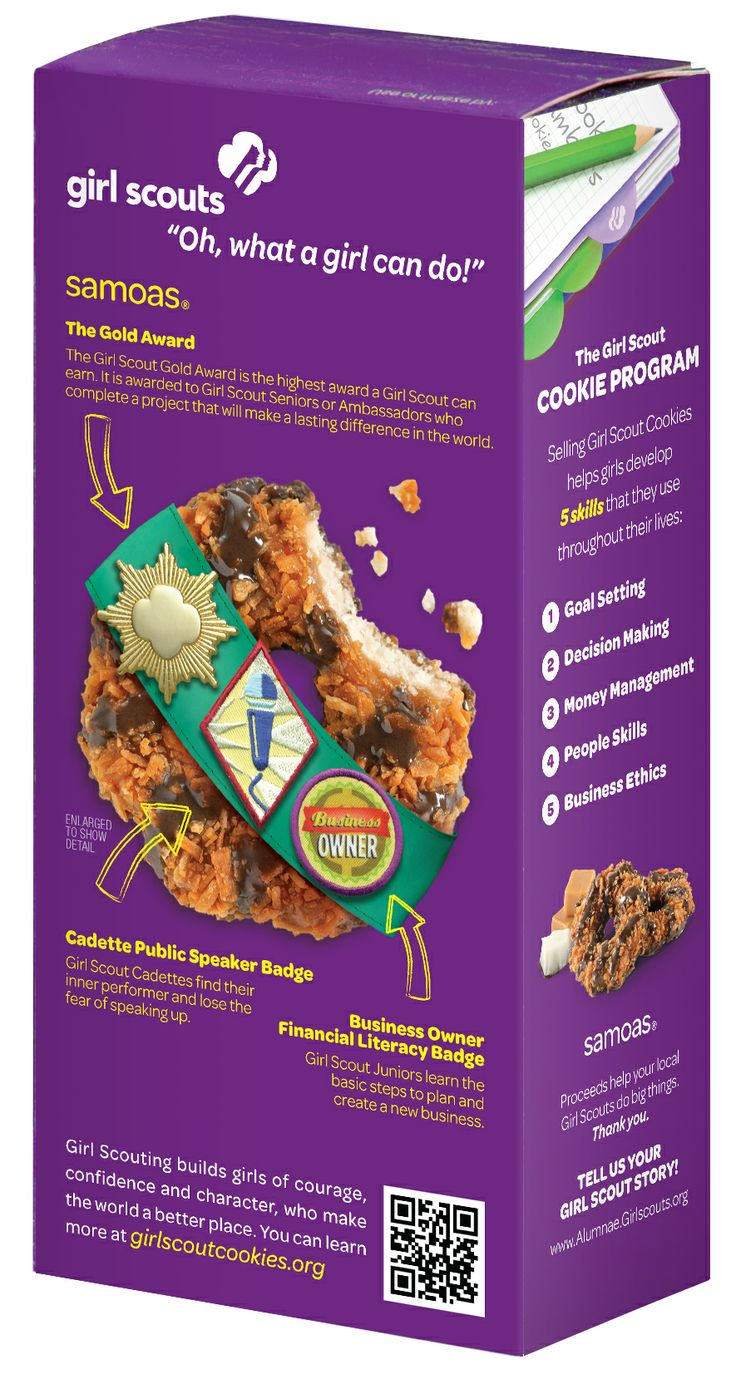 Samoas new box! Girl Scouts NorCal's next Cookie Program will be Feb ...