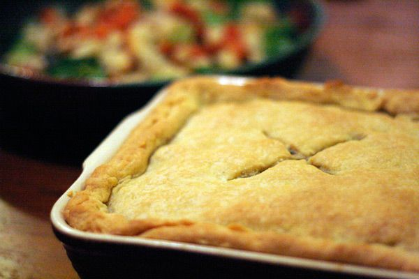 It's Still Cold, So Make This #VEGAN Pot Pie
