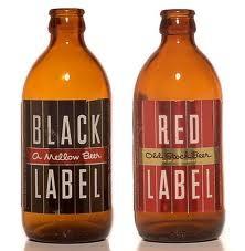 BLACK & RED LABEL BEER | EVERYTHING FOOD & DRINKS | Pinterest