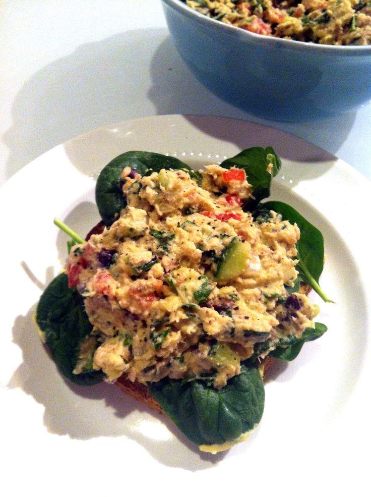 Mediterranean Tuna Salad. | Seafood | Pinterest