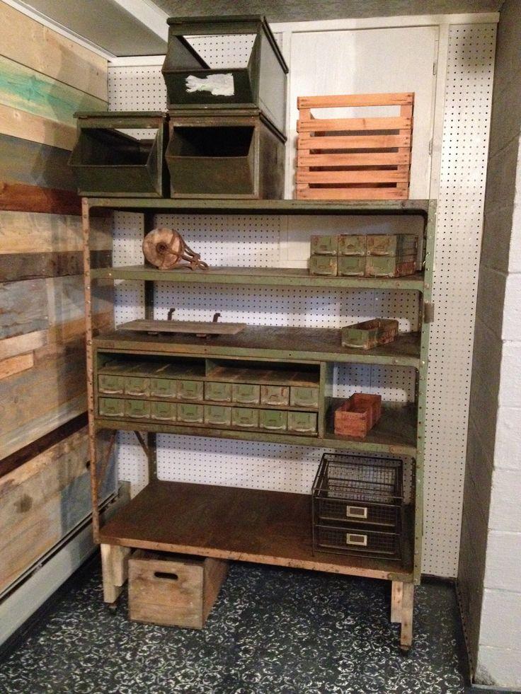 basement shelf diy pinterest