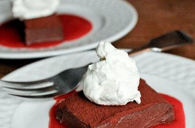 Vegan Chocolate Truffle Cake — Punchfork | Recipes | Pinterest