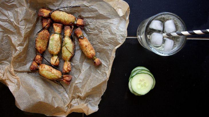 Fried Guacamole Recipe Basically guacamole wontons. :)