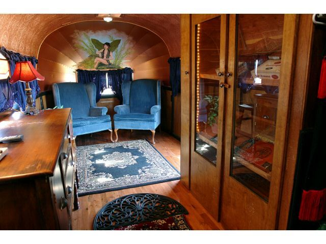 Vintage Airstream Interior The Image Kid Has It