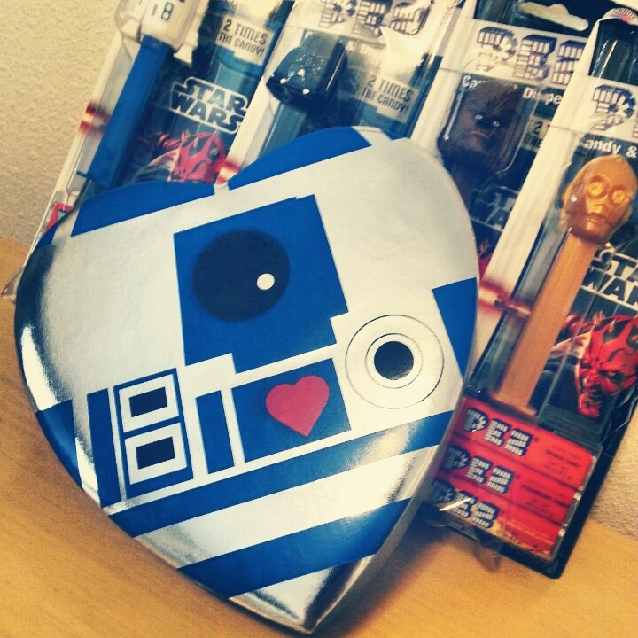 star wars valentines day box
