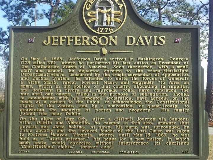 jefferson davis civil war apush