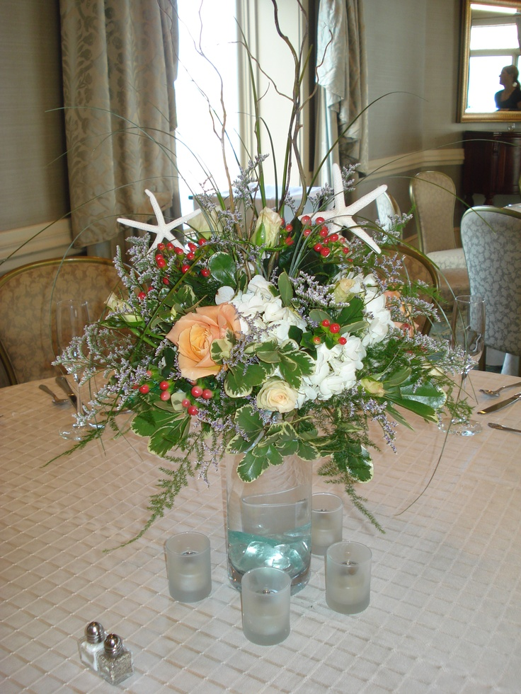 Wedding Flowers For Beach Theme : Beach theme wedding flowers