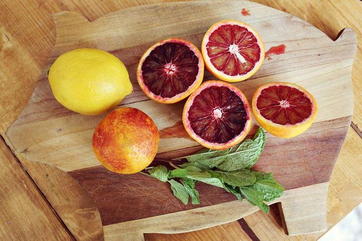 blood orange limoncello fizz recipe | Partay Time | Pinterest