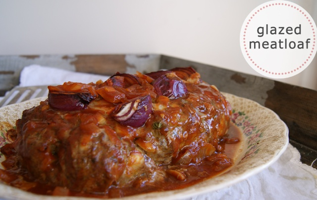 Glazed Meatloaf I Recipe — Dishmaps