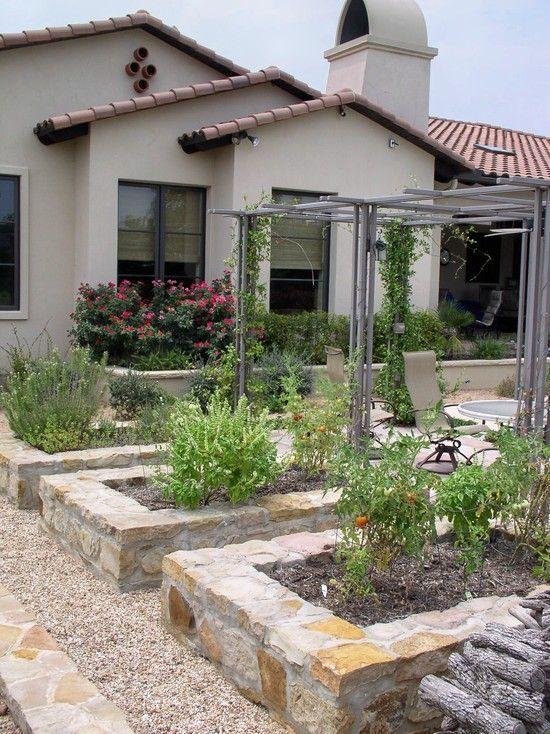 Mediterranean Backyard Landscaping Ideas : Landscape Garden Design, Pictures, Remodel, Decor and Ideas  page 9