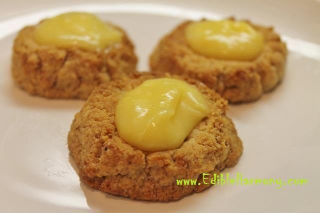 Almond Thumb Print Cookies #EdibleHarmony