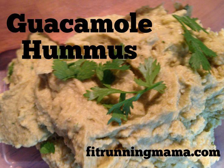 Guacamole Hummus ..... Yum! | Party Snacks | Pinterest