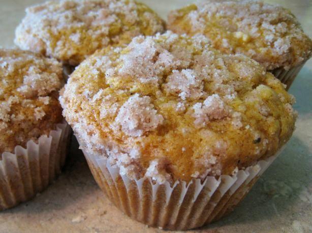 Pumpkin Apple Streusel Muffins Recipe - Food.com - 13251
