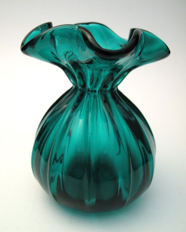Vintage Aqua Glass Vaset Of 10 Ten Aqua Bud Vase Glass Vases