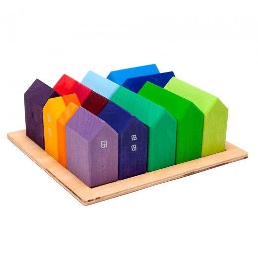 Building Shaped Block Set in Building Blocks - Nova Natural Toys + Crafts