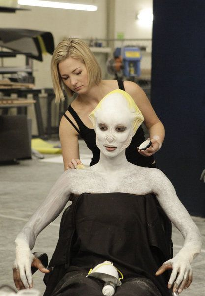 laura-works-on-her-alien-creation-face-off-season-three-syfy --   love her she almost won but, she still has a promising career very talented