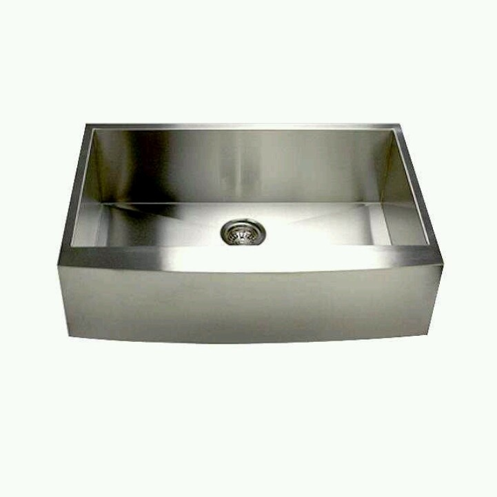 Stainless steal farmhouse sink