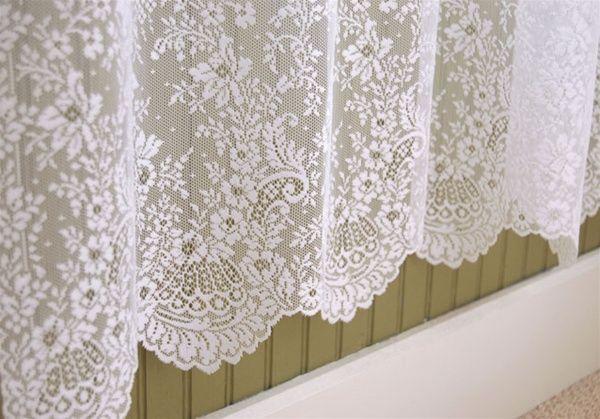 lace shower curtain lace pinterest