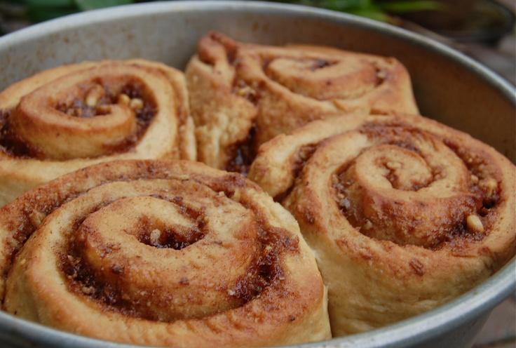 Whole wheat, vegan cinnamon rolls | Favorite Recipes | Pinterest
