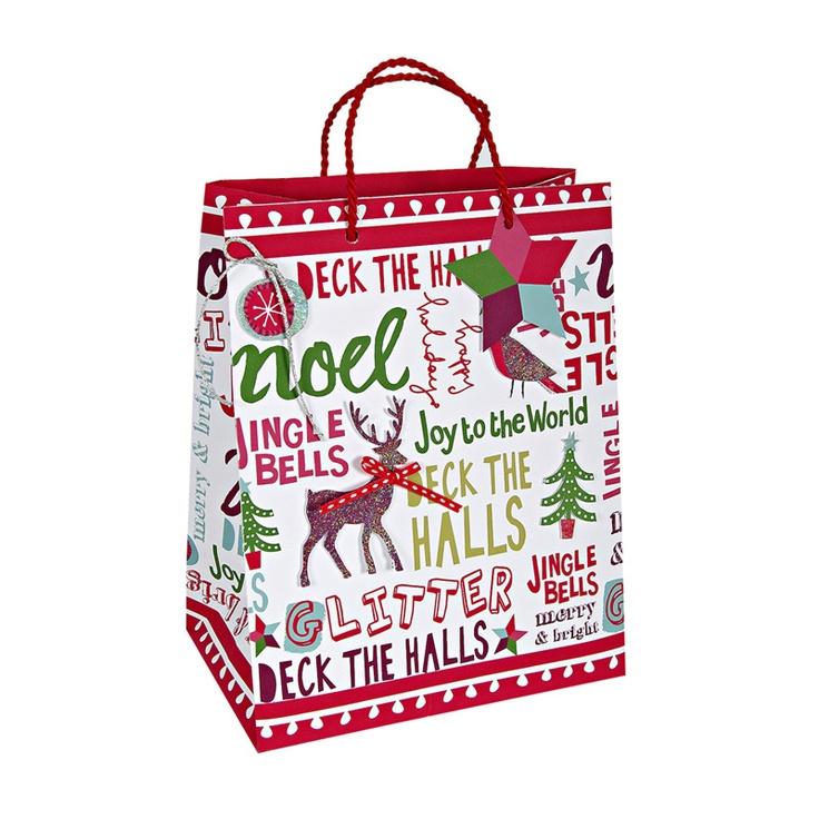 Christmas Slogans Medium Bag