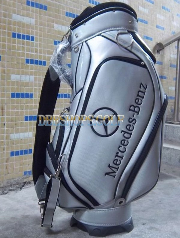 mercedes benz silver golf bag silver gold pinterest