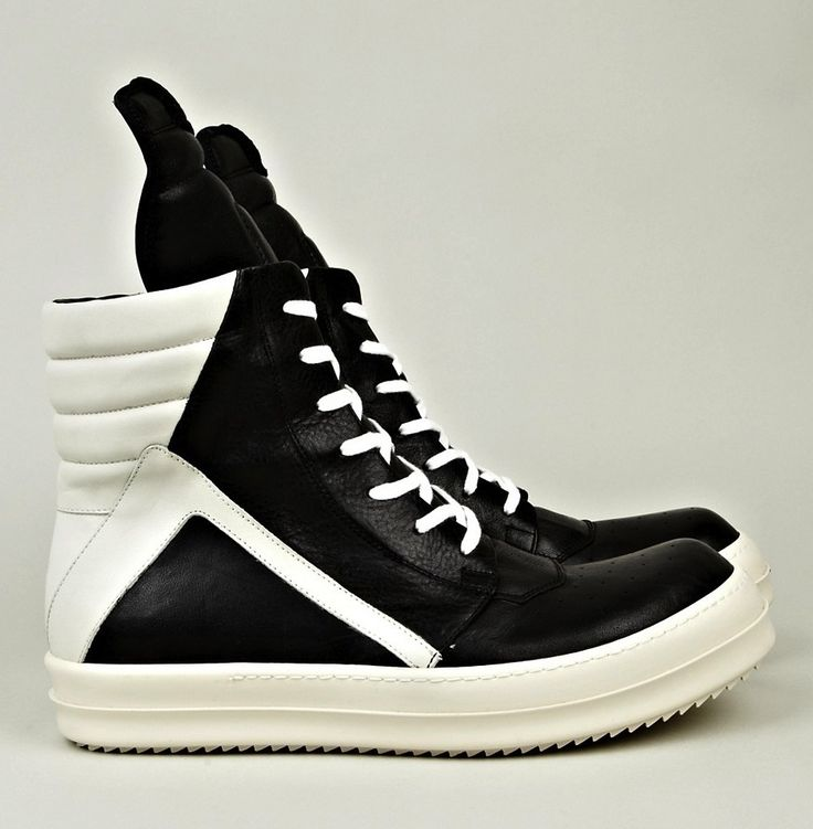 Geobaskets by Rick Owens. I love it when awesome shoes cost $1,300! It ...