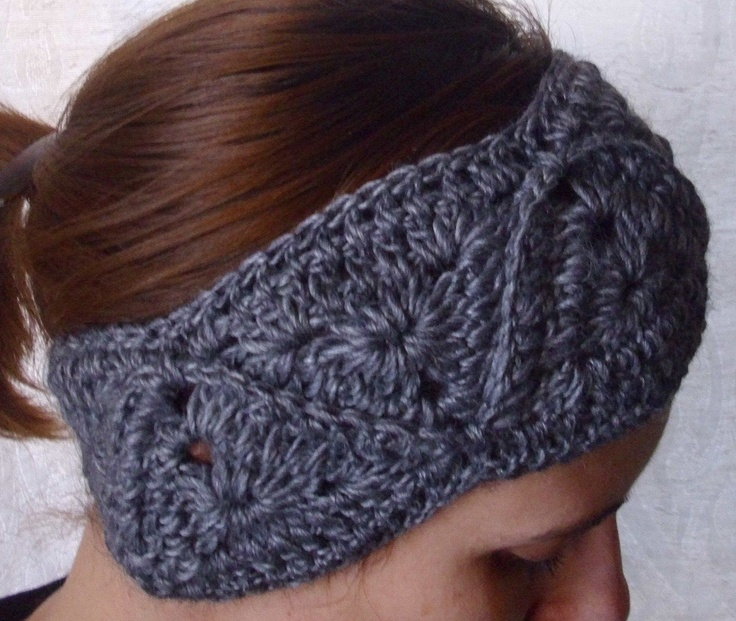 Crochet Patterns For Headbands : Crochet headband headwrap - PDF PATTERN. $6.00, via Etsy.