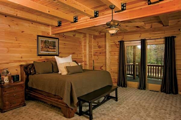 Cabin Master Bedroom For The Home Pinterest