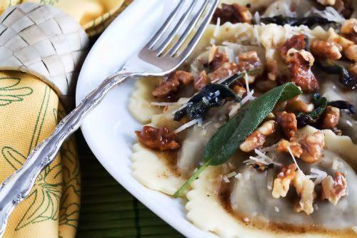 Agnolotti With Sage Walnut Cream Sauce Recipes — Dishmaps
