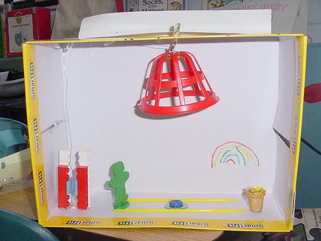 4 clovers and leprechaun traps for kindergarten