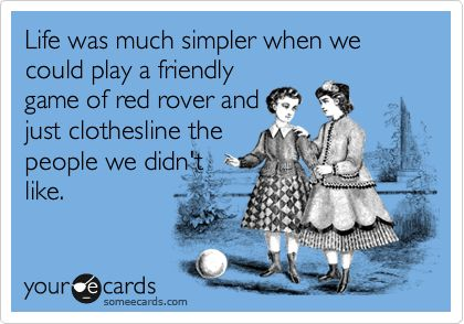 Red Rover lol