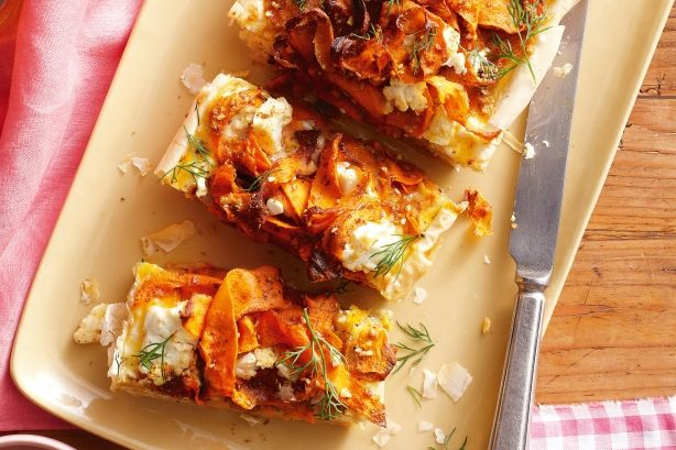 Carrot and Feta Lasagne (you can also add chickpea or anything you ...