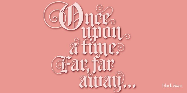 Fancy Once Upon A Time Font