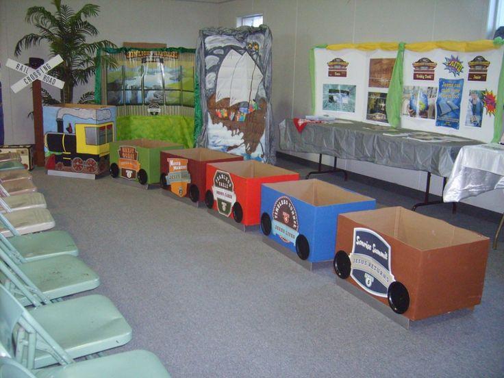 how to build a cardboard box train