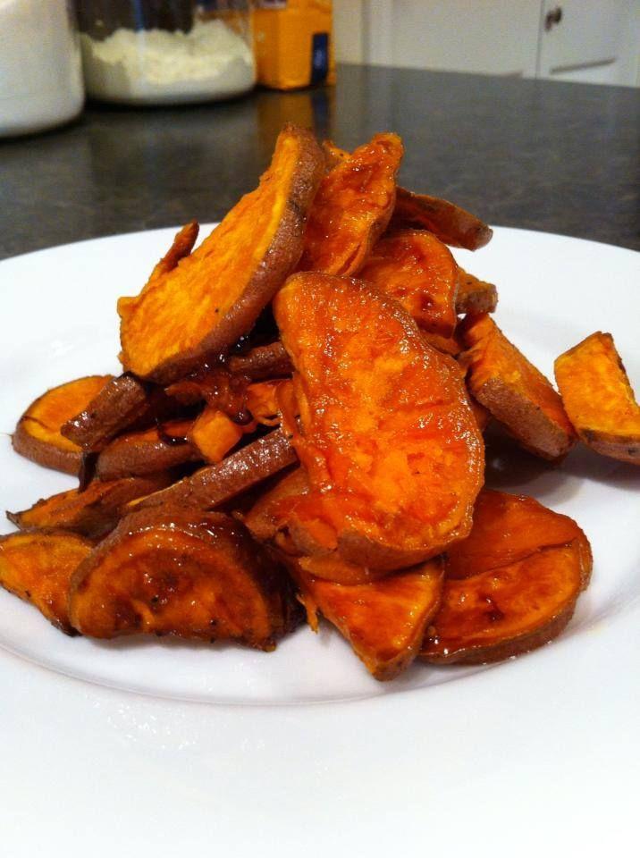Maple cinnamon roasted sweet potatoes. | Femia Italian Foods | Pinter ...