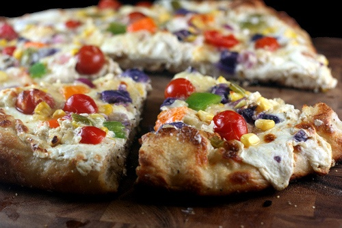 Rainbow Pizza | Savory Food Times | Pinterest